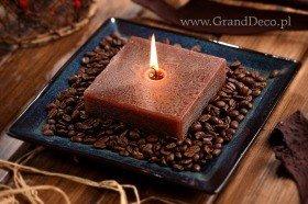 Zestaw potpourri ze świecą - kawowe